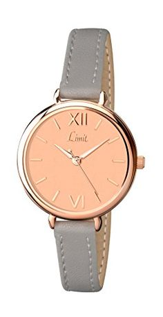 Clean simple dial Stainless steel case back. Scratch resistant mineral glass.