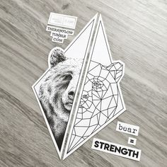 Want Something To Symbolize Strength And Confidence Get This Unique Bear Design On Skinque