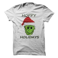 Hoppy Holidays T Shirts, Hoodies. Check Price ==► https://www.sunfrog.com/Holidays/Hoppy-Holidays-75640007-Guys.html?41382