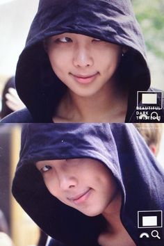 Dimples and he's smart. God help us. Kim Nam Joon  / Rap Monster