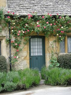 Stanton cottages, Gloucestershire, England