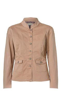 CHICA uniformsjakke fra Plus Fine   Shop Serafine.dk