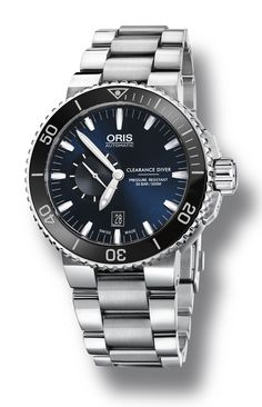 TimeZone : Industry News » N E W M o d e l - Oris Royal Navy Clearance Diver