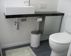Combine Two Ikea Products To Create A Tiny Bathroom Vanity   Bathroom Ideas    Pinterest   Ikea Hack, Vanities And Sinks