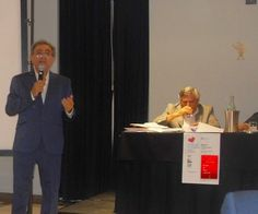 Il dott.Luigi Ruggeri presenta il poeta Stefano Zangheri a Matera