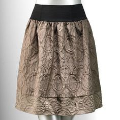 Simply Vera Vera Wang Jacquard Skirt
