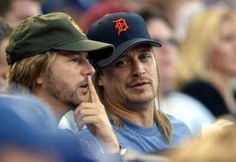 Bobby and David Spade -Joe Dirt & Kid Rock…friends again.