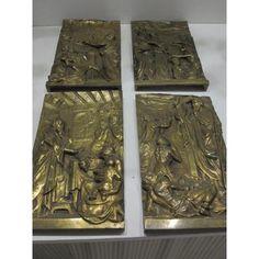 Martin Villena Librero & Anticuario Granada, Bronze, Relief, Objet D'art, Bookends, Display, Home Decor, Door Panels, Antique Books