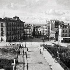 centenariojuanlopez @centenariojuanl  19 de mar. #Murcia Exposicion @centenariojuanl La foto de hoy. Vista desde el puente de Los Peligros, antes de la Gran Vía.