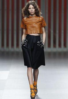 Cibeles Madrid Fashion Week Ego last year Moisés Nieto