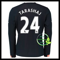 Fotballdrakter Everton Langermet TARASHAJ #24 Bortedraktsett 2016-2017 Everton, Graphic Sweatshirt, T Shirt, Premier League, Sweatshirts, Long Sleeve, Sleeves, Sweaters, Mens Tops