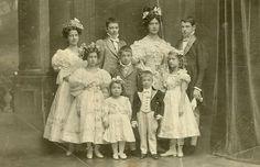 Children of Archduchess Marie Valerie and Archduke Franz Salvator