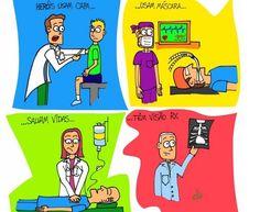 Presenteie quem cuida de você - seu médico é especial!