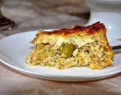 Torta de Massa Folhada Recheada de frango!!! :)