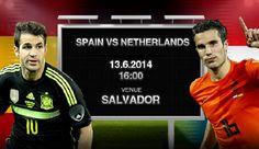 NETHERLANDS  5 - 1 SPAIN (Full-Time) 2014 FIFA World Cup, Group B, 13 June 2014, Arena Fonte Nova, Salvador, Brazil