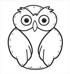 Owl Template Download