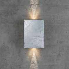 Eglo 94803 Agolada Double LED Outdoor Wall Light Stainless Steel//White Finish
