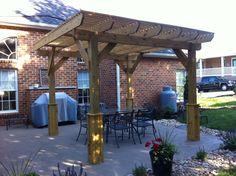 New arbor in Lynchburg, VA Gazebo, Pergola, Southern Porches, Outdoor Living Rooms, Outdoor Structures, Home, Kiosk, Pavilion, Outdoor Pergola