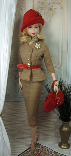 Classically Fall for Silkstone BArbie and by MatisseFashions