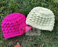 Newborn Bennett Beanie - Free Crochet Pattern This hat can be made for boy or girl!!