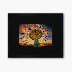 'Tivoli Grona Lund - Stockholm' Framed Print by Hercules Milas Stockholm City, Centerpiece Decorations, Lund, Off Colour, Custom Boxes, Sunrises, Box Frames, Hercules, Framed Art Prints