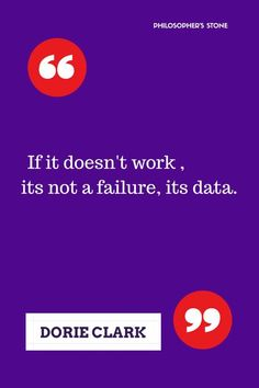Learnings from failure