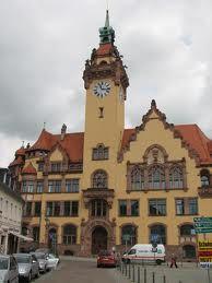 Rathaus am Markt in Waldheim Sachsen