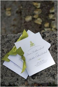 Свадебные приглашения в зеленых оттенках