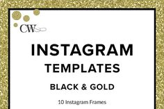 Instagram Templates  @creativework247