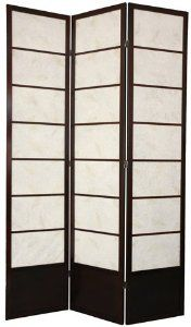 """Oriental Furniture Best Quality Extra Tall Room Dividers, 7-Feet Botanic Japanese Design Shoji Folding Floor Screen, 3, 4, 5, or 6 Panel, 3 Colors by ORIENTAL FURNITURE. $238.00. 83.5"""" by 17.5"""" panels, 3 colors in 4 sizes. Browse our huge selection of japanese, chinese, asian décor, room dividers, art, lamps and gifts. Fine kiln dried scandinavian spruce, classic japanese joinery, solid bottom kick plate. Beautiful art paper shade diffuses light, contemporary..."""