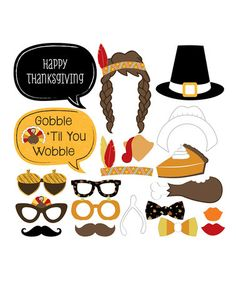 Big Dot of Happiness Thanksgiving Photo Booth Prop Set Thanksgiving Photos, Thanksgiving Crafts, Happy Thanksgiving, College Event Ideas, Party Props, Party Ideas, Holiday Fun, Holiday Decor, Photo Booth Props