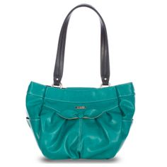 *Miche Canada* Sweet meets überchic with the Margaret for Demi Bags, and the result of this encounter is an absolutely stunning Shell—it's utterly feminine and unforgettable too! Rich teal faux leather features a buttoned bowtie detail and contrasting stitching. It's sophisticated and fashion-forward—just like you!
