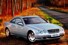 Mercedes-Benz CL600 V12 coupe (C215 series).