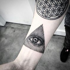 Illuminati Tattoo Designs for Men