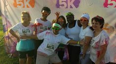Knoxville Tennessee April 26, 2014 Color Me Rad