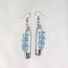 Weird Jewelry, Funky Jewelry, Cute Jewelry, Jewelry Accessories, Handmade Jewelry, Earrings Handmade, Funky Earrings, Diy Earrings, Grunge Jewelry