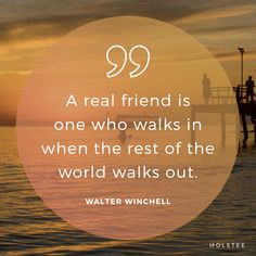 Who shows up for you when everyone else walks away? #qotd #quote #quoteoftheday #kinship #friendship #truth