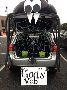 trunk or treat so making it say thd