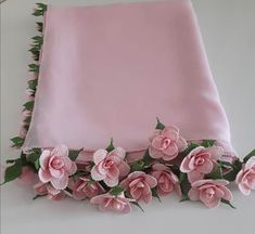 Stylish Dress Designs, Stylish Dresses, Diy Lace Ribbon Flowers, Ribbon Work, Crochet Scarves, Embroidery, Tote Bag, Knitting, Instagram