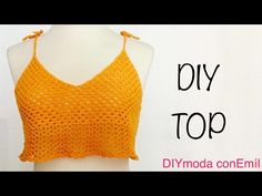 Blusa Top tejido a crochet ganchillo paso a paso - YouTube