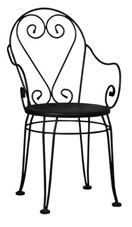 Forforge Kolçaklı Sandalye