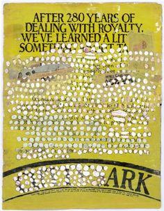 Ark(front), by Ellen Gallagher