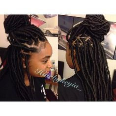 Beautiful Faux Locs For booking and pricing Check bio. #labraider #fauxlocs…
