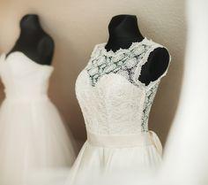 """Vestuvinių suknelių salono """"Mano Suknelė"""" 2014 metų kolekcijos suknelės."""