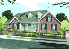 House Plan 110-00325 - Ranch Plan: 2,147 Square Feet, 4 Bedrooms, 2.5 Bathrooms