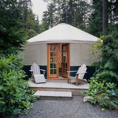 Tents and cabins step aside: Yurts are the vacation home of the future. See photos of stunning yurt homes from across the country and even…