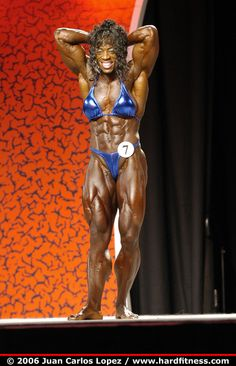 Iris Kyle - 2006 Miss Olympia #female #muscle