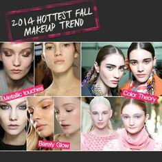 [Sharea Beauty Tips] 2014 Hottest Fall make up trend!