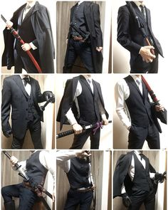 for more! Suit + Swords = best combination - Crediollow for more! Suit + Swords = best combination - Credi Embedded drawing Long coat + formal robe for all your suiting and wizarding needs. Suit Drawing, Drawing Poses, Shading Drawing, Look Man, Action Poses, Mens Fashion, Fashion Outfits, Fashion Black, Drawing Clothes