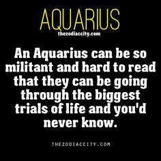 Zodiac Aquarius facts.